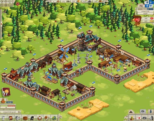 Jeux En Ligne Gratuit Multijoueur De Guerre Goodgame Empire