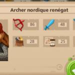 Archer nordique renégat GoodgameEmpire