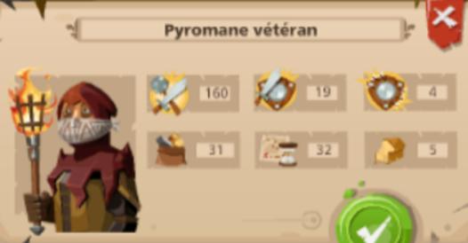 Pyromane vétéran goodgame empire