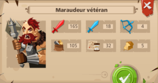maraudeur veteran good game empire